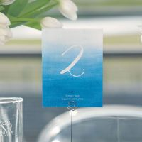 Aqueous Table Numbers