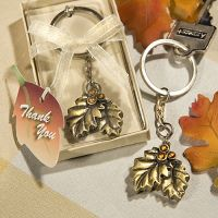 Autumn Fall Inspired Key Chain Favors