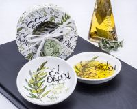 Olive Oil Dipping Dishes Gift Set of 2