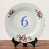 Removable Vinyl Table Number