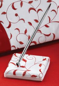 Red and White Pen Set