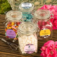 Personalized Expressions Collection Apothecary Jar Favors