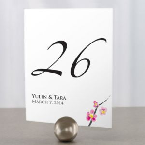 Cherry Blossom Table Numbers
