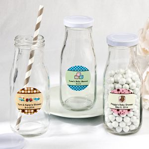 Design Your Own Collection Vintage Style Milk Bottles